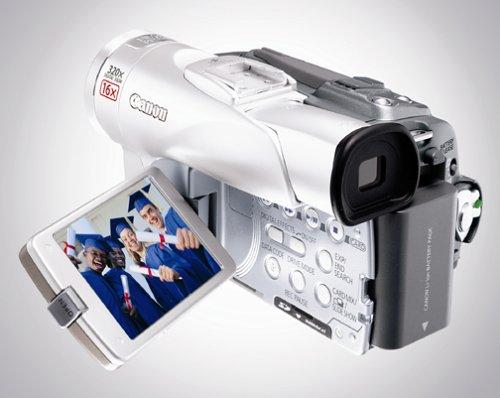 amazon com canon elura 65 minidv camcorder w 16x optical zoom rh amazon com