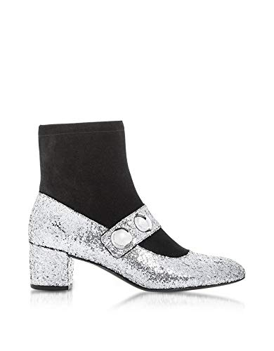 Marc Jacobs Luxury Fashion Womens Ankle Boots Summer Silver