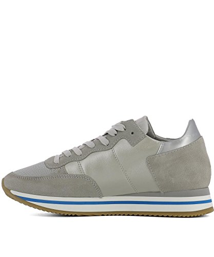 Philippe Model Dames Thldpe06 Beige Lederen Sneakers