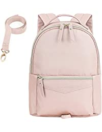 Fashion Toddler Backpack Travel Kids Backpack with Small Toddler Leash, Pink