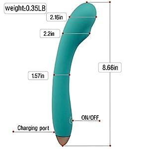 PNBB Heating Vibrator 8 Powerful Multi-Speed -100% Waterproof USB Charge G-spot Vagina and Clitoris Vibrating Dildo