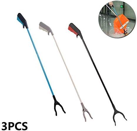 衛生ごみのクリップ、ステンレス鋼のごみプライヤー、省力ピッカー、拡張ごみ衛生クリップ、老齢エイド、3PCS