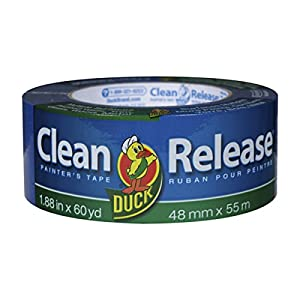 Duck Clean Release Blue Painter's Tape, 2-Inch (1.88-Inch x 60-Yard), Single Roll, 240195