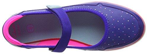 Clarks Tri Bitsey Jnr Mädchen Knöchelriemchen Sandalen Blau (Blue Leather)