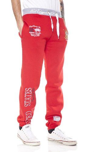 Rosso Norway uomo Geographical rosso Pantaloni da xqOIzOwg