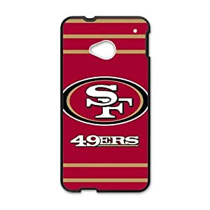 DAZHAHUI 49ers Phone Case for HTC One M7 BY RANDLE FRICK by heywan