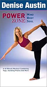.com: Denise Austin - Power Zone - Mind, Body, Soul [VHS]: Denise