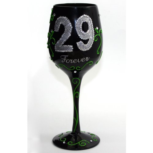 forever 29 wine glass - 7
