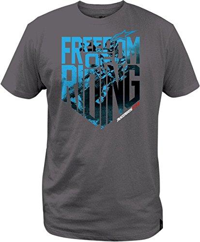 ALPINESTARS Freedom Photo T-shirt Cotton Gray Medium