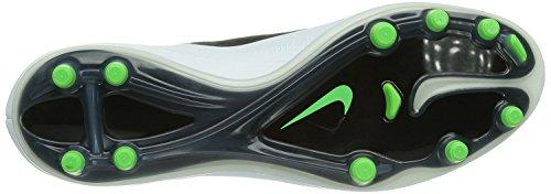 Nike Mens Hypervenom Phatal Fg Bitta Da Calcio Nero / N Lime / Bianco / Mtllc Slvr