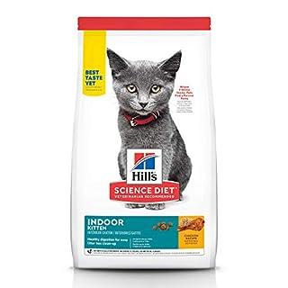 Hill's Science Diet Dry Cat Food, Kitten, Indoor, Chicken Recipe, 3.5 lb Bag