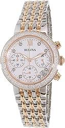 Bulova Women's Watch Diamond Collection 98R215