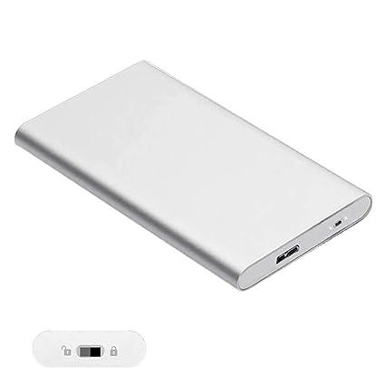 Disco Duro Externo portátil, Ultra Delgado de 2,5 Pulgadas USB 3.0 ...
