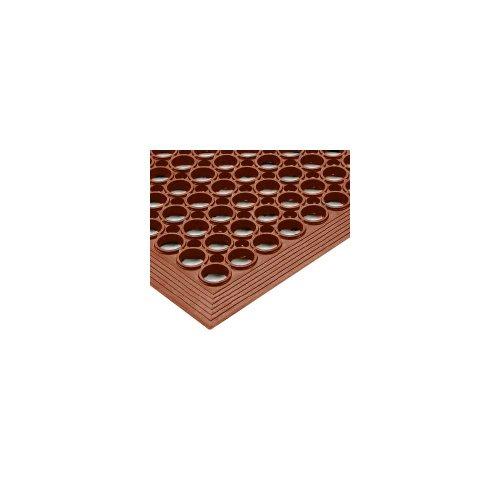 NoTrax Tek-Tough Jr 3' x 10' Red Floor Mat
