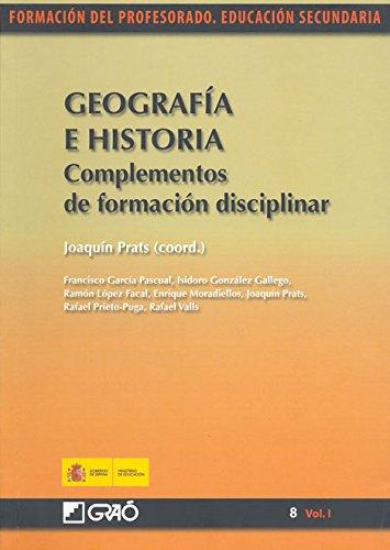 Descargar Libro Geografía E Historia. Complementos De Formación Disciplinar Francisco García Pascual