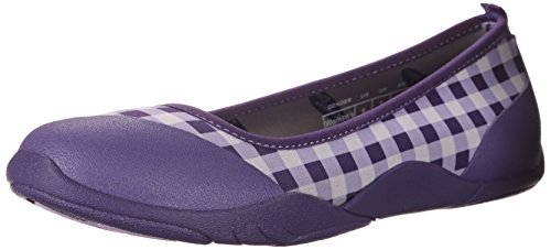 Ballet Gingham Women's Muck Purple Casual Breezy Flat Rubber Boot wTxn7qRzX