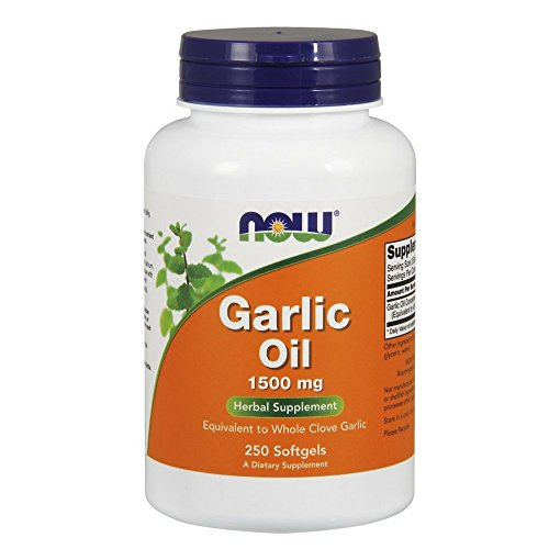 NOW Garlic Oil 1500 mg,250 Softgels Review