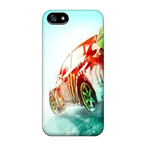 Ultra Slim Fit Hard WalkingStreet Case Cover Specially Made For Iphone 5/5s- Dirt 3 Rally Race Game