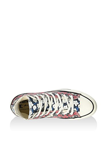 CONVERSE-Zapatilla ALL STAR PREM HI CANVAS ANDY WARHOL 151029C-302345 FLORAL
