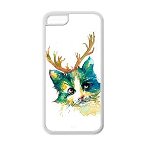 meilz aiaiCustom Christmas Gift,Santa Claus Rubber TPU Case For Apple IPhone 5Cmeilz aiai