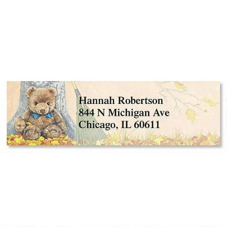 Teddy Bear Magic Small Return Address Labels (6 Designs) - Set of 240 2