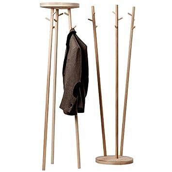 Cascando Twist - Perchero de madera, 9 ganchos - Placa ...