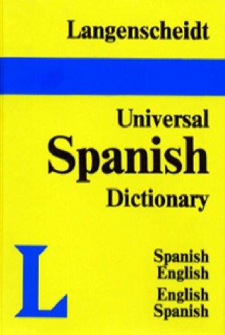Langenscheidt's Universal Dictionary - Spanish