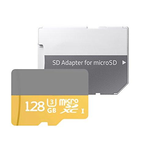 128GB 100MB/s (U3) MicroSD EVO Select Memory Card with Adapter