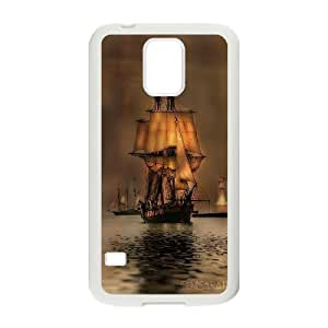 James-Bagg Phone case Tall sailing protective case For Samsung Galaxy S5 FHYY458657