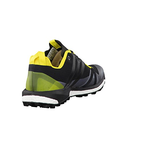 Adidas Terrex Agravic, Scarpe da Escursionismo Uomo, Nero (Negbass/Amabri), 40 EU