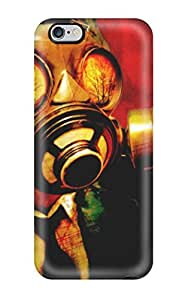 Durable Gas Mask Back Case/cover For Iphone 6 Plus