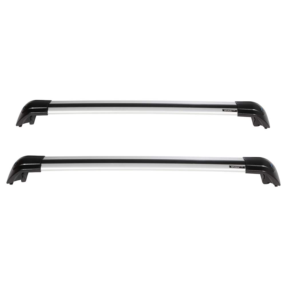 SCITOO fit for 2015 2016 2017 Kia Sorento Aluminum Alloy Roof Top Cross Bar Set Rock Rack Rail