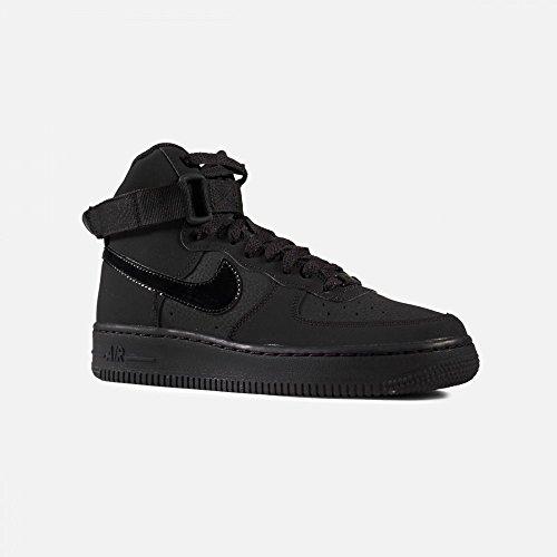 Nike AIR Force 1 HIGH (GS) Black/Black-Black by Nike (Image #1)