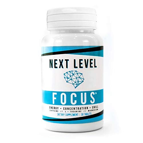 Next Level Focus   Caffeine With L Theanine And Magnesium For Sustained Energy   Focus   Focused Energy For Your Mind   Body   No Crash