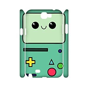 Beemo Adventure Time Custom 3D Cover Case for Samsung Galaxy Note 2 N7100,diy phone case ygtg589359