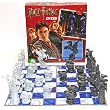 Deluxe Games And Puzzles Harry Potter Chess Set Based On Harry Potter And The Sorcerer's Stone
