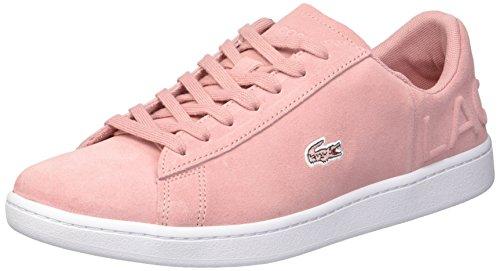 Sneaker Evo Pink Suede Women's Lacoste Carnaby wqRBtx