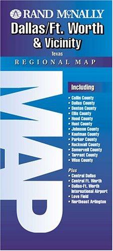 Dallas Ft Worth and Vicinity (Rand - Airport Map Dallas