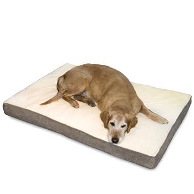 Happy Hounds Oscar Orthopedic Dog Bed, Medium 30 by 42-Inch, Birch