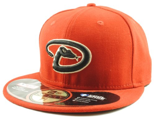 New Era 59Fifty MLB Cap Arizona Diamondbacks Authentic Alternate On Field Fitted Hat (6 7/8)