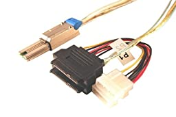 Data Storage Cables, p/n C5629X2-1M-1: Mini SAS-SAS Drive x 2, 1M, Single Port [Electronics]