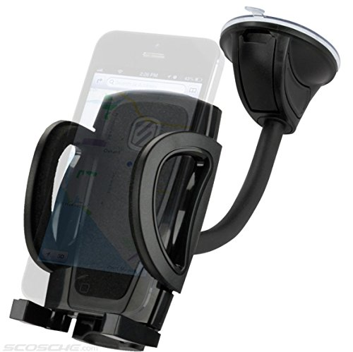 Price comparison product image SCOSCHE IHW10 STUCKUP Universal 4-in-1 Smartphone/GPS Suction Cup/Vent Mount Kit for the Car, Home or Office
