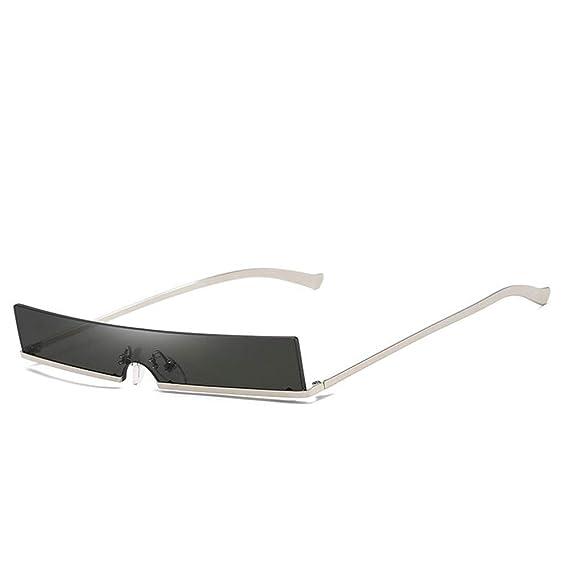 0b66194682 Square Sunglasses Women Fashion Metal Frame Brand Designer Small Sun  Glasses Vintage Rectangular Skinny Ladies Yellow Glasses (black)  Amazon.co. uk  ...