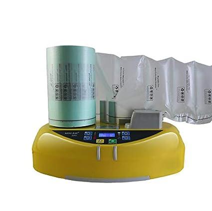 Cojín de aire inflado para máquina de embalar, cojín de aire, burbujas, almohada de embalaje, paquete de relleno en logístico.