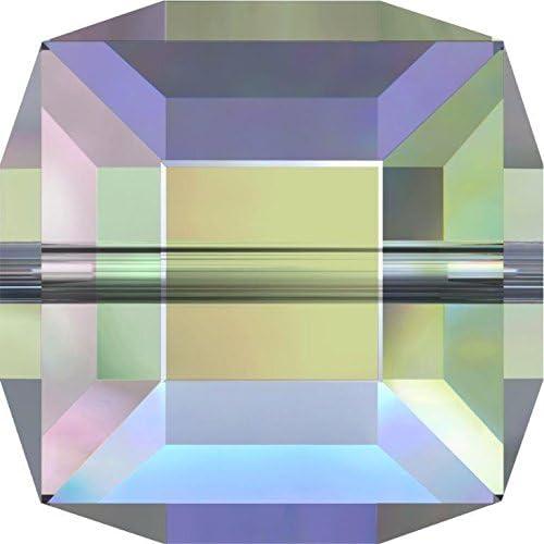 Cubo de cristal de Swarovski Bead, Paradise Shine B, 6mm - Pack of 4: Amazon.es: Hogar