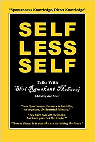 Selfless Self: Talks with Shri Ramakant Maharaj: Amazon.es ...