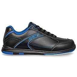 KR Strikeforce Y-020-050 Flyer Bowling Shoes, Black/Mag Blue, Size 5