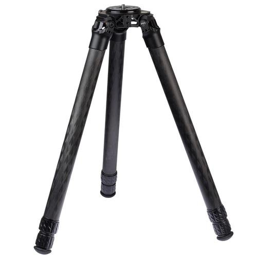 ProMediaGear Pro-Stix 3-Section Carbon Fiber Tripod with 42mm Diameter Legs, 125 lbs Capacity, 58'' Max Height by ProMediaGear
