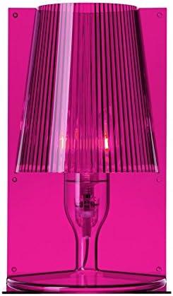 Kartell Take Lampada Da Tavolo Rosa Amazon It Illuminazione