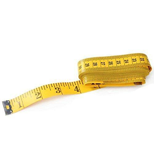 weimay M/ètre ruban claire pieds /échelle doux M/ètre ruban v/êtements Measuring 3/m